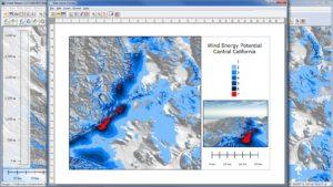 Global Mapper 18 Layout