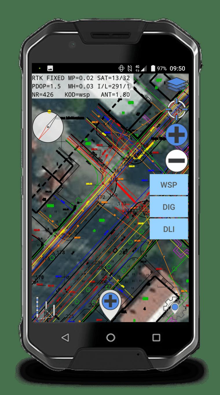 QuickGNSS – nowa jakość w wykonywaniu pomiarów z Androidem